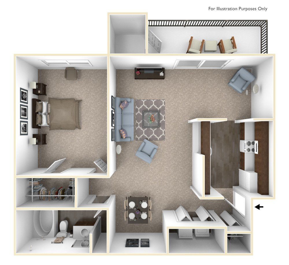 One Bedroom Apartments In Grand Rapids Mi: Rent In Grand Rapids MI