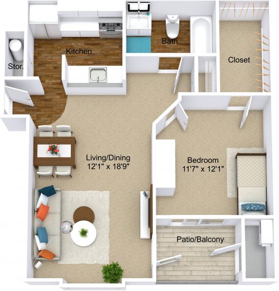 One Bedroom Apartments In Grand Rapids Mi: Apartments In Grand Rapids