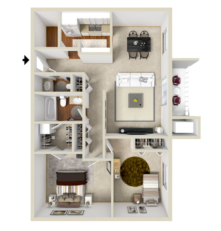 Two Bedroom Deluxe