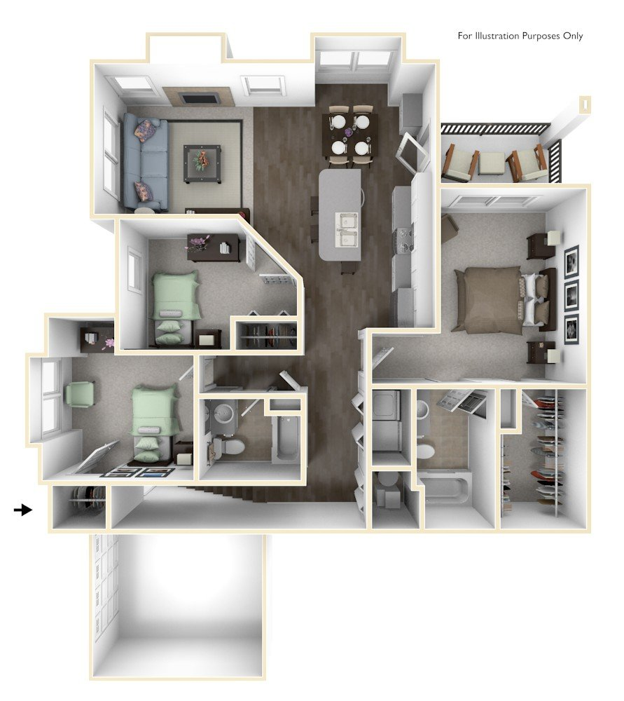Apartments For Rent In Grand Rapids MI Aspen Lakes Apartments