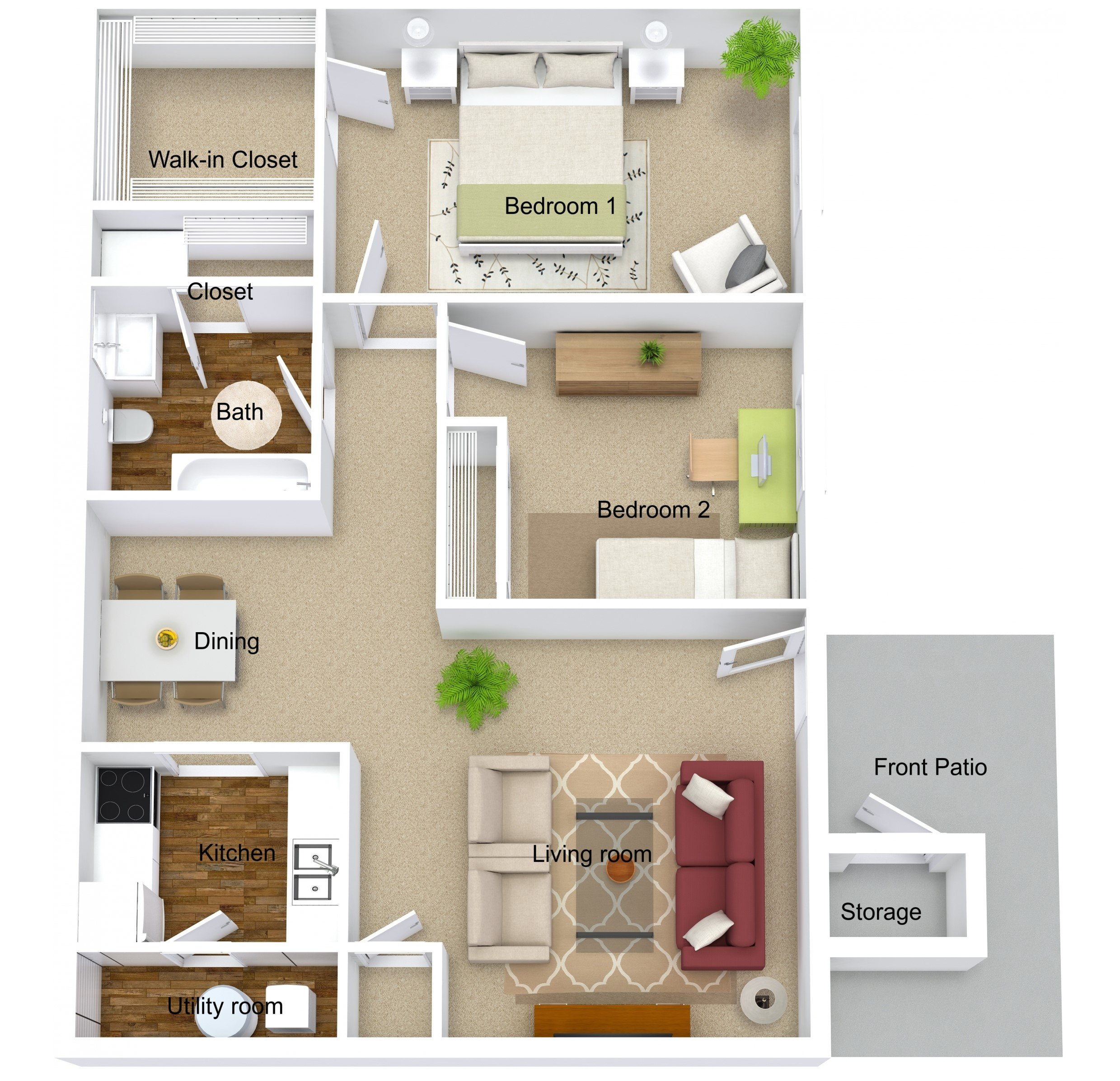 Apartments For Rent Evansville IN