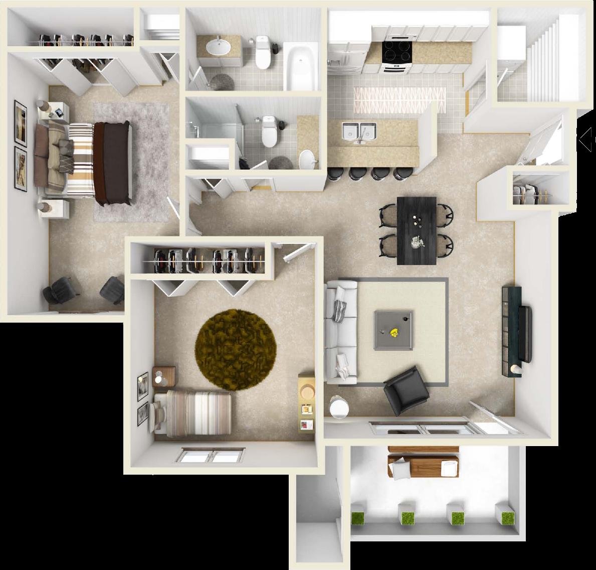 One Bedroom Apartments In Grand Rapids Mi