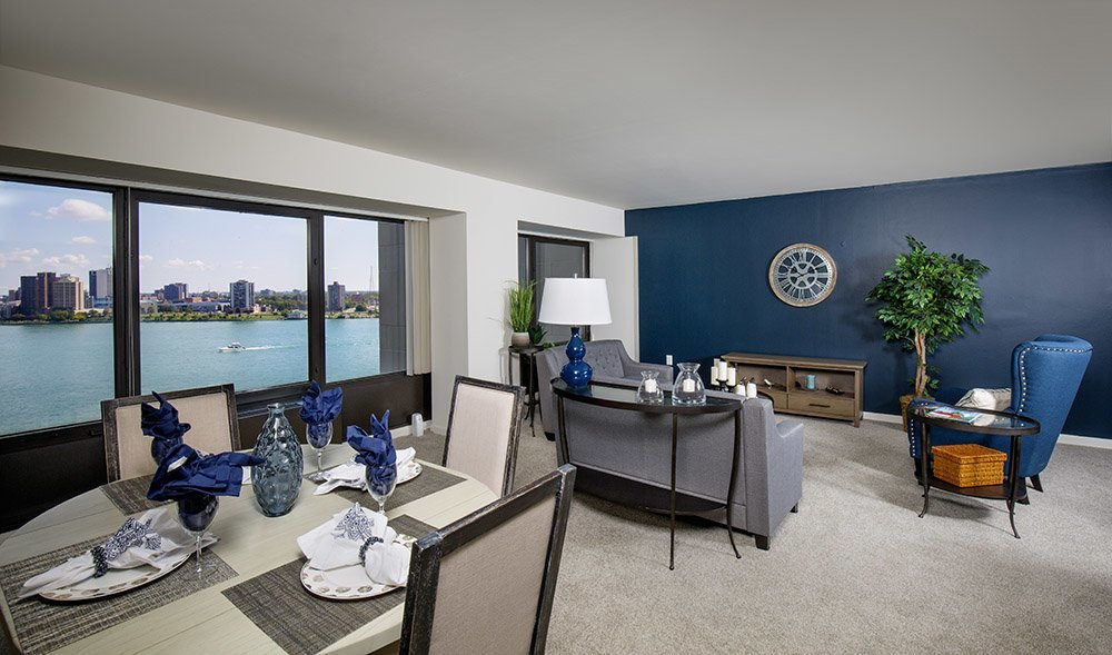 Detroit Riverfront Apartments   Riverfront Towers   Welcome